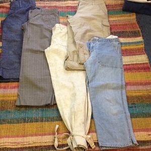 Lot of 5 pants